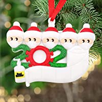 2020 Survived Family Ornament Xmas Tree Ornaments, Survivor Family Hanging Ornaments for Christmas Tree Home Decor…