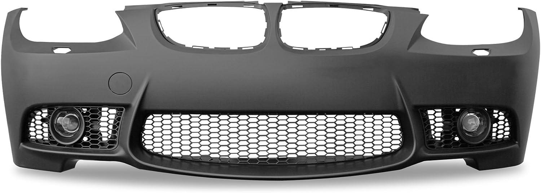 JOM sans Trous PDC Anti Brouillard Adaptable: 82331 JOM 5111289JOM Pare Choc Look Sport Avant pour BMW E92 Coup/é 9//06-09