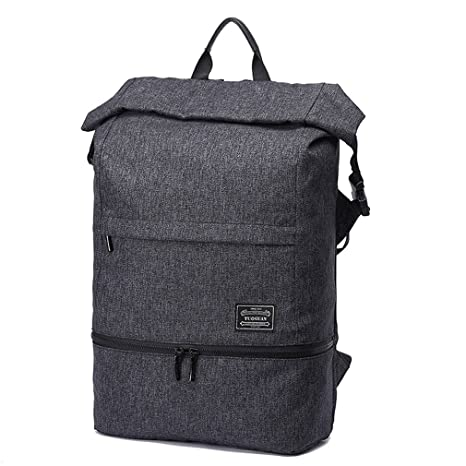9e5c52ae6c8 Image Unavailable. Image not available for. Color  Sports Gym Bag Backpack  with Shoe Compartment, LYCSIX66 Anti-Theft Travel Rucksack Backpack Fits