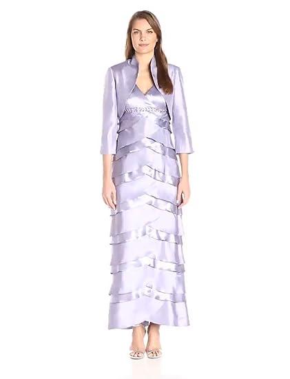 ae9b73ac455 Amazon.com  Jessica Howard Women s Jacekt Dress with Artichoke Skirt ...