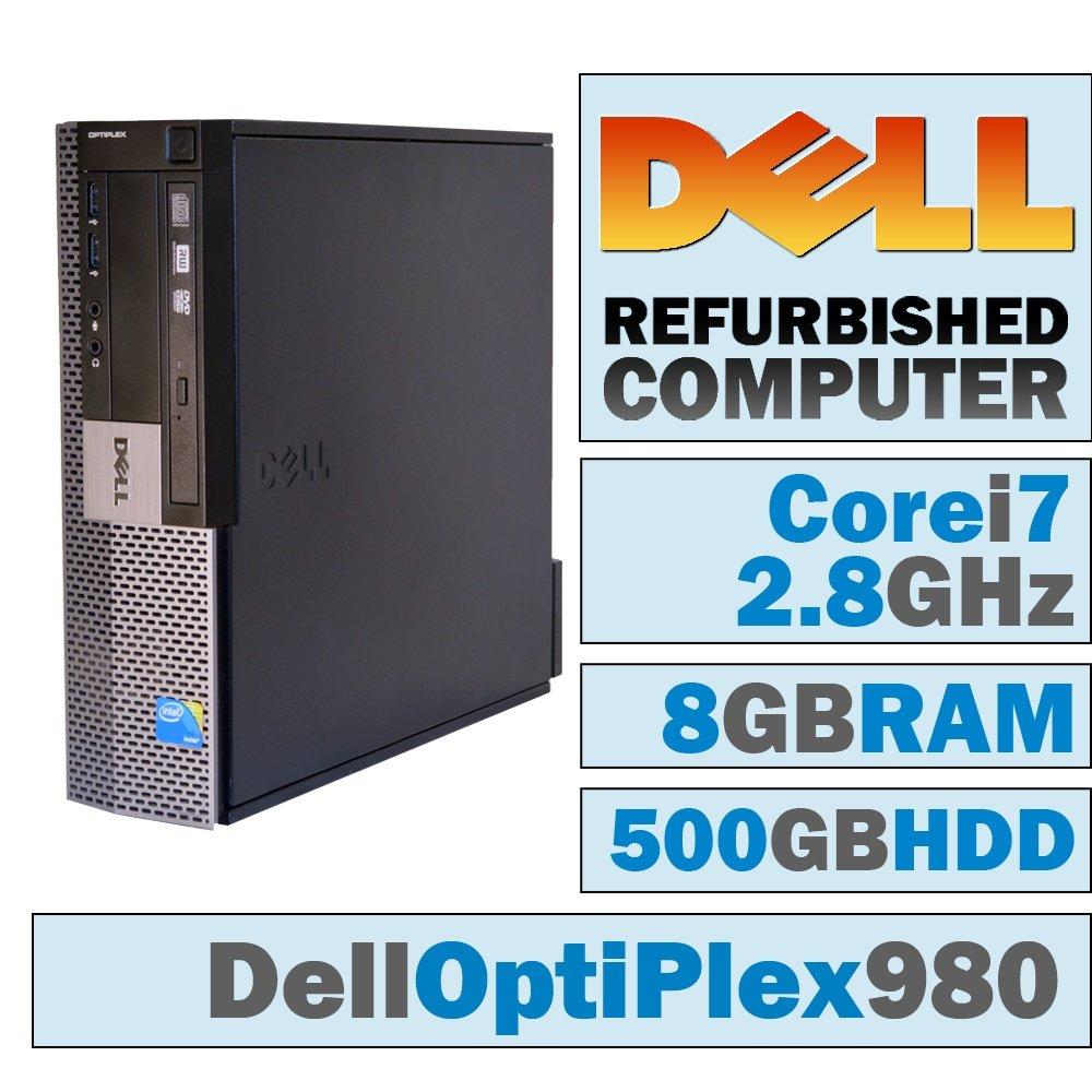 Amazon.com: DELL OptiPlex 980 SFF/Core i7 – 860 Quad @ 2.8 ...