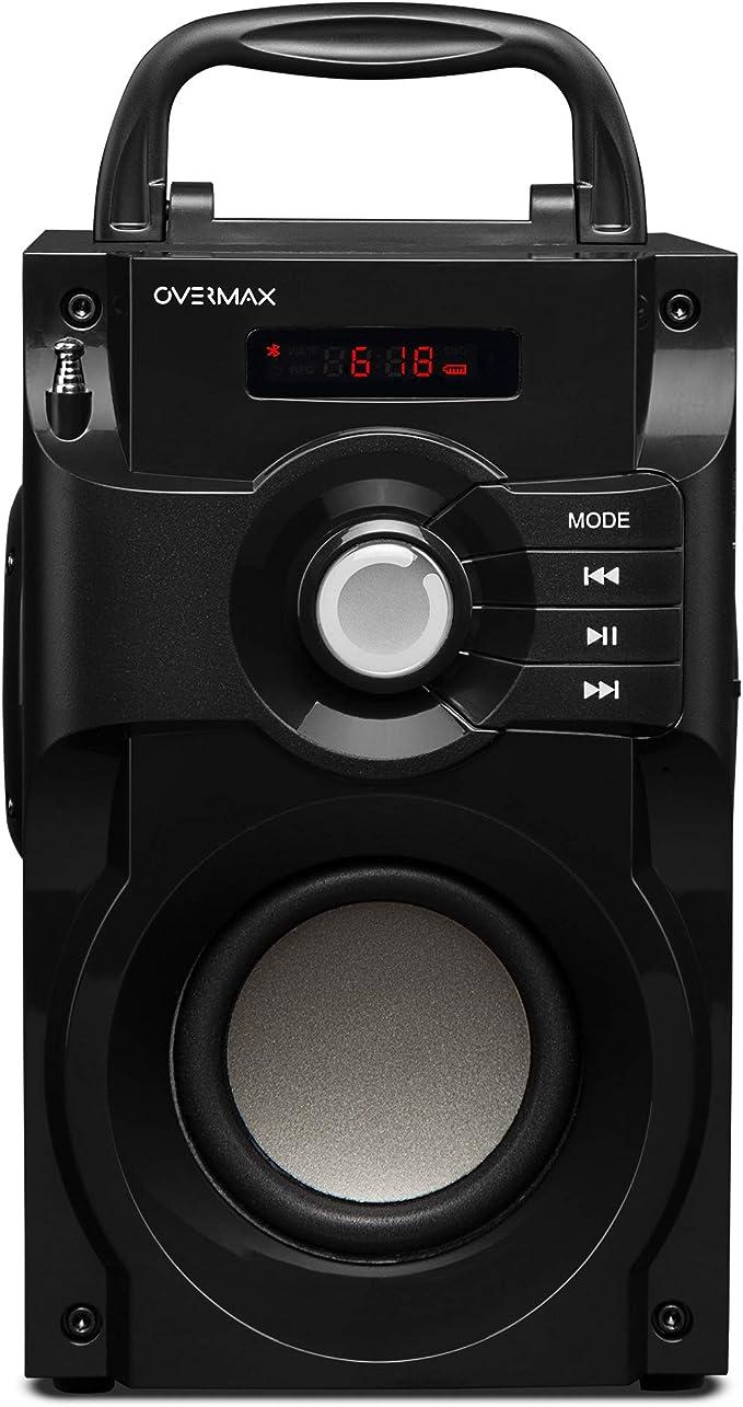 Overmax Soundbeat 2 0 Bluetooth Speaker Usb Sd Aux Radio With Remote Control Mp3 Hifi
