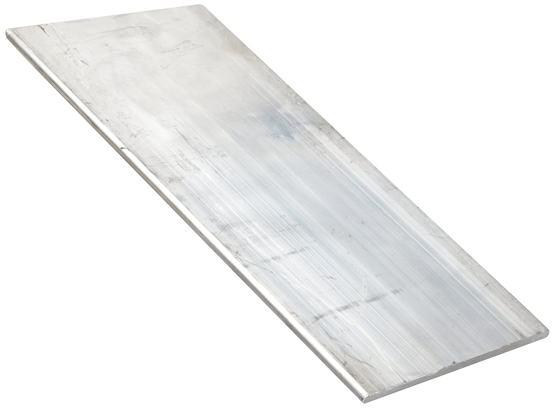 Unpolished ASTM B317 T61 Temper 4 Width 6101 Aluminum Rectangular Bar 1//2 Thickness Mill 24 Length Finish