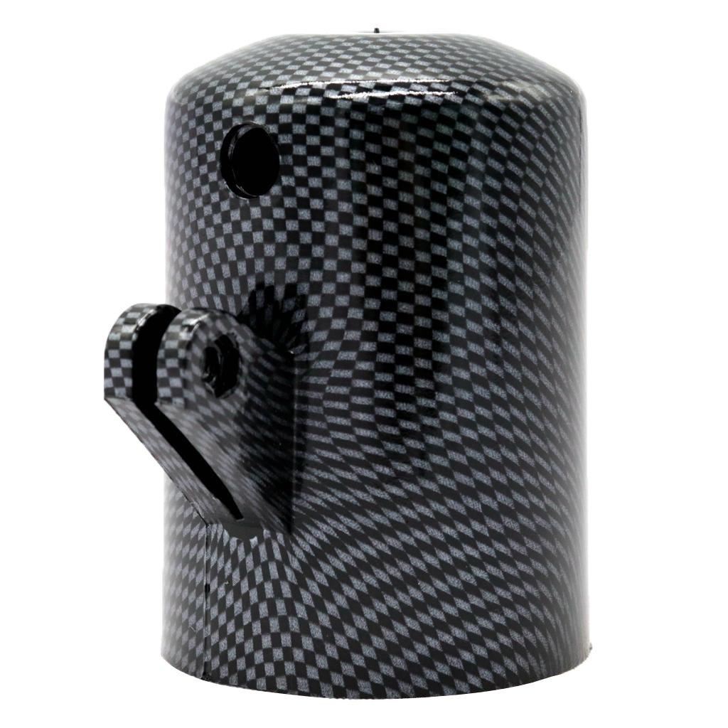 Sharplace 52mm Staffa Porta Calibro Manometro Laterale Plastica ABS Auto Macchina
