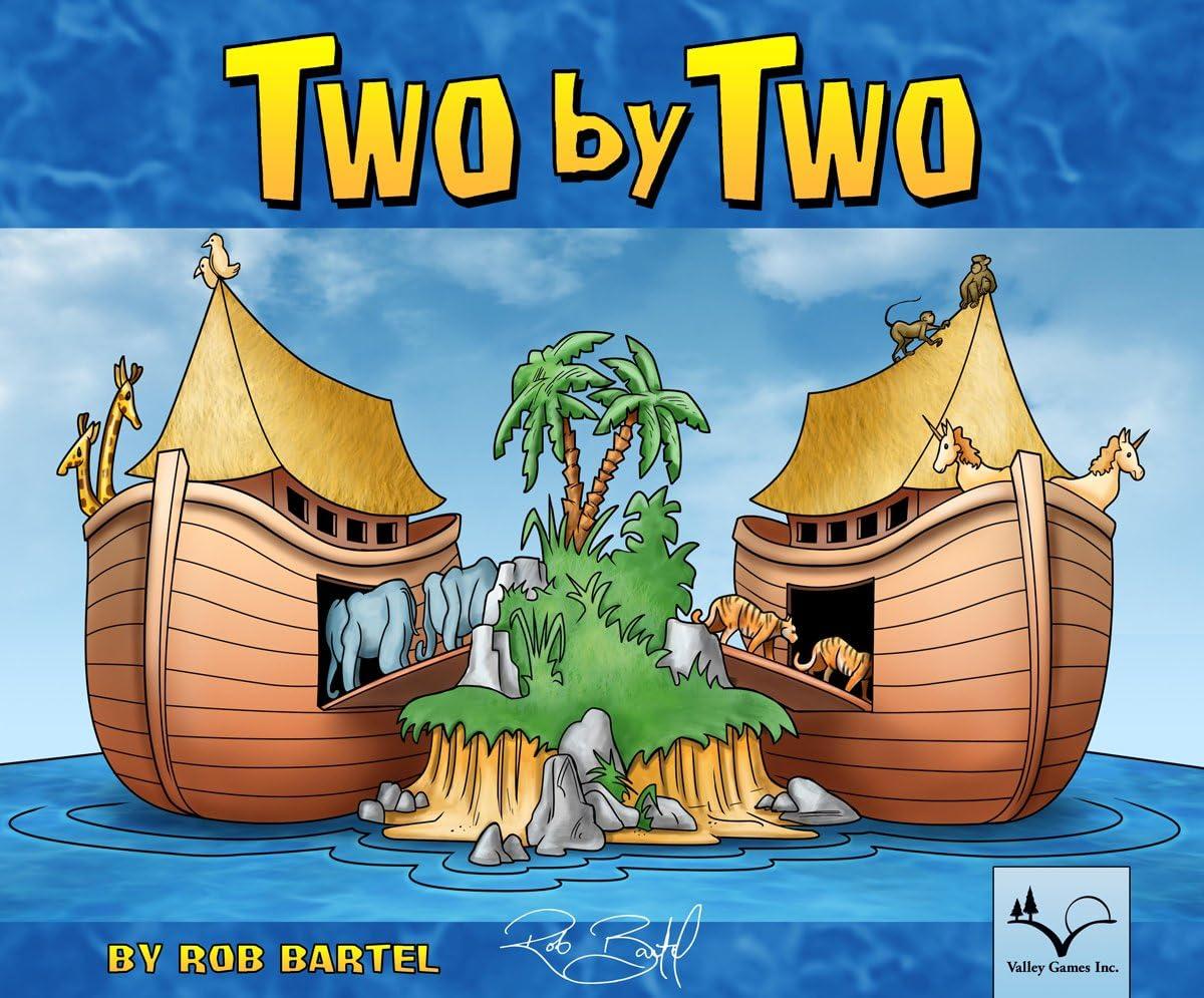 Desconocido Two by Two - Juego de Mesa (versión en inglés): Amazon.es: Juguetes y juegos