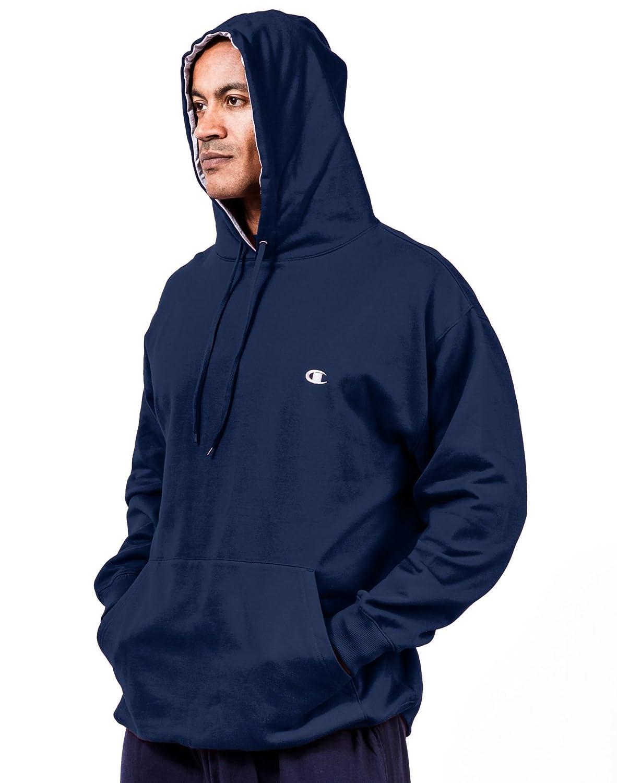 Champion Mens Big-Tall Fleece Pullover Hoodie