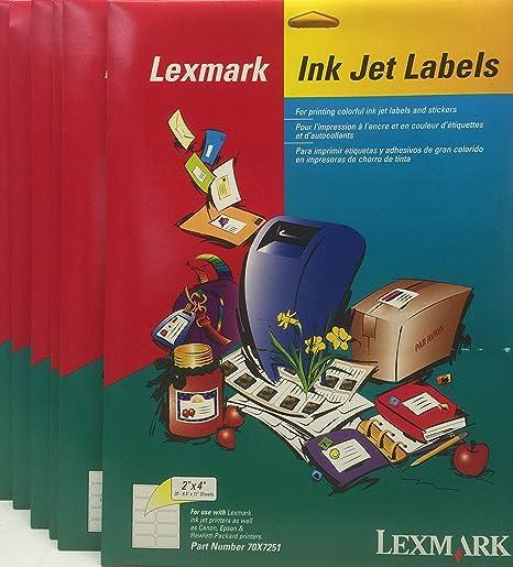 Amazon.com : Avery Compatible Lexmark 70X7251 2