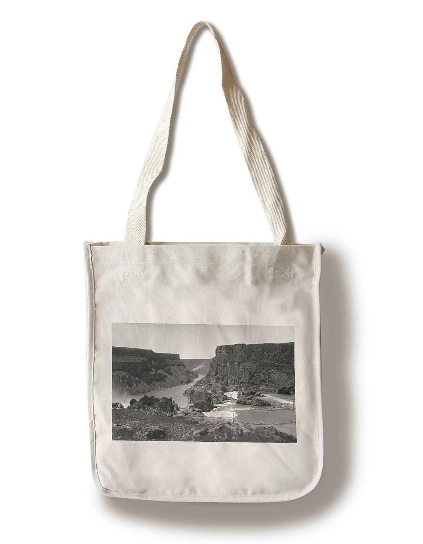 【国産】 Twin Falls、アイダホ Tote – Aerial View Of Bag Snake Of River Canyon 15oz Mug LANT-3P-15OZ-WHT-13001 B0182QWKHO Canvas Tote Bag Canvas Tote Bag, しずおかけん:f1b9819c --- vezam.lt