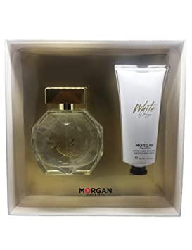 Morgan White by Morgan estuche Perfume/crema para cuerpo ...