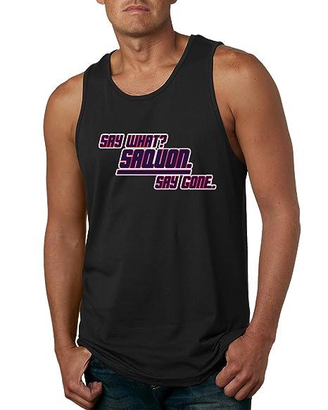 845a19792 Amazon.com  Wild Bobby Say What Saquon Logo