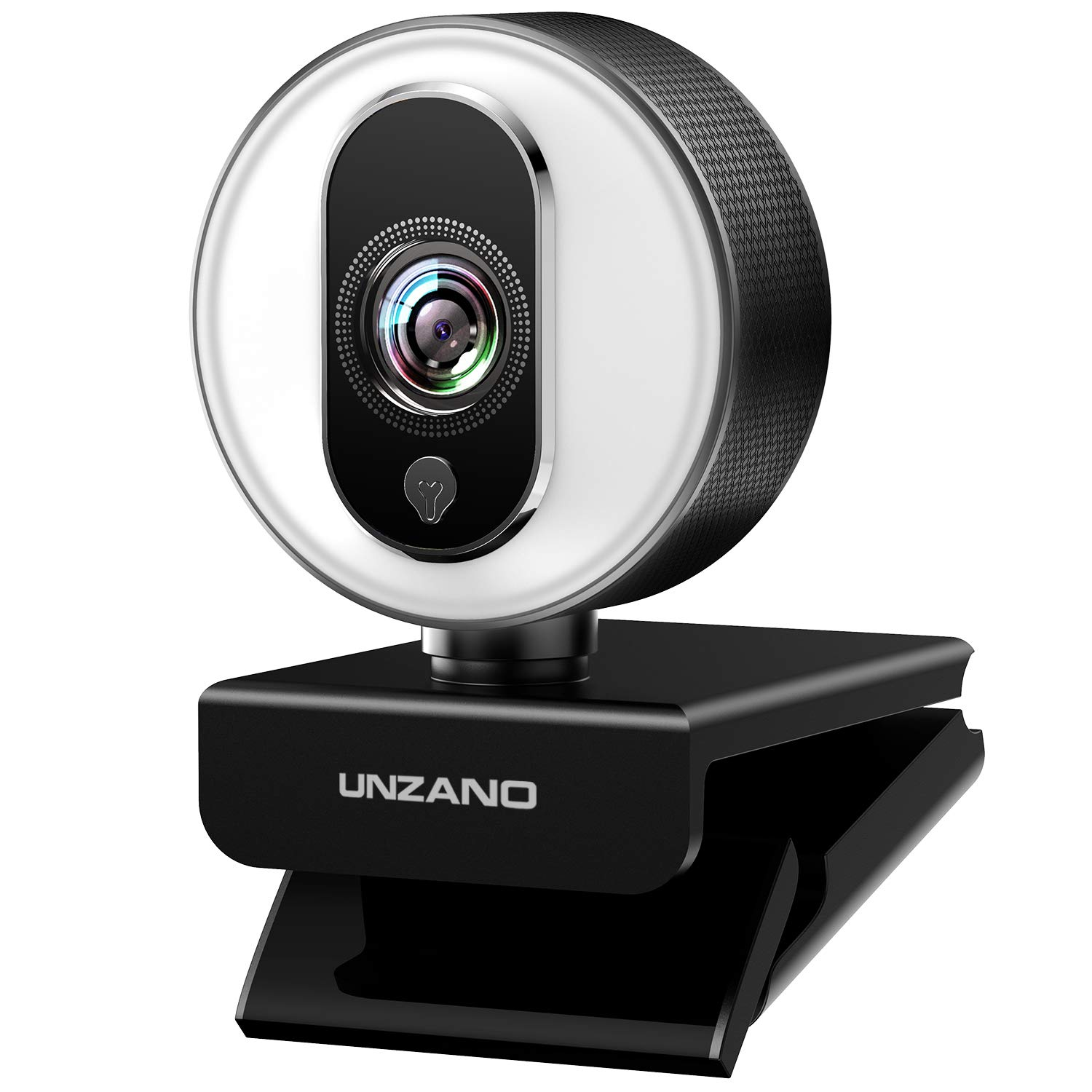 HD Webcam 1080P for Streaming With Ring Light,External Computer Web Camera With Dual Microphone,Autofocus Camera for PC Laptop Desktop Mac Video Calling Recording Skype Xbox One YouTube OBS