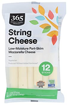 Whole Foods Market Low-Moisture String Cheese