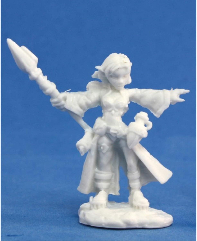 Reaper Miniatures Cassie, Gnome Wizard #77031 Bones Unpainted Plastic Figure