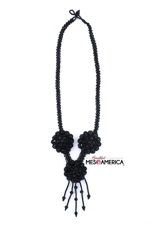 Handmade Mexican Beaded Necklace Zeltzin