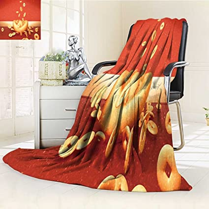 fe89ef96eb7f0 Amazon.com : Luminous Microfiber Throw Blanket d rendering picture ...