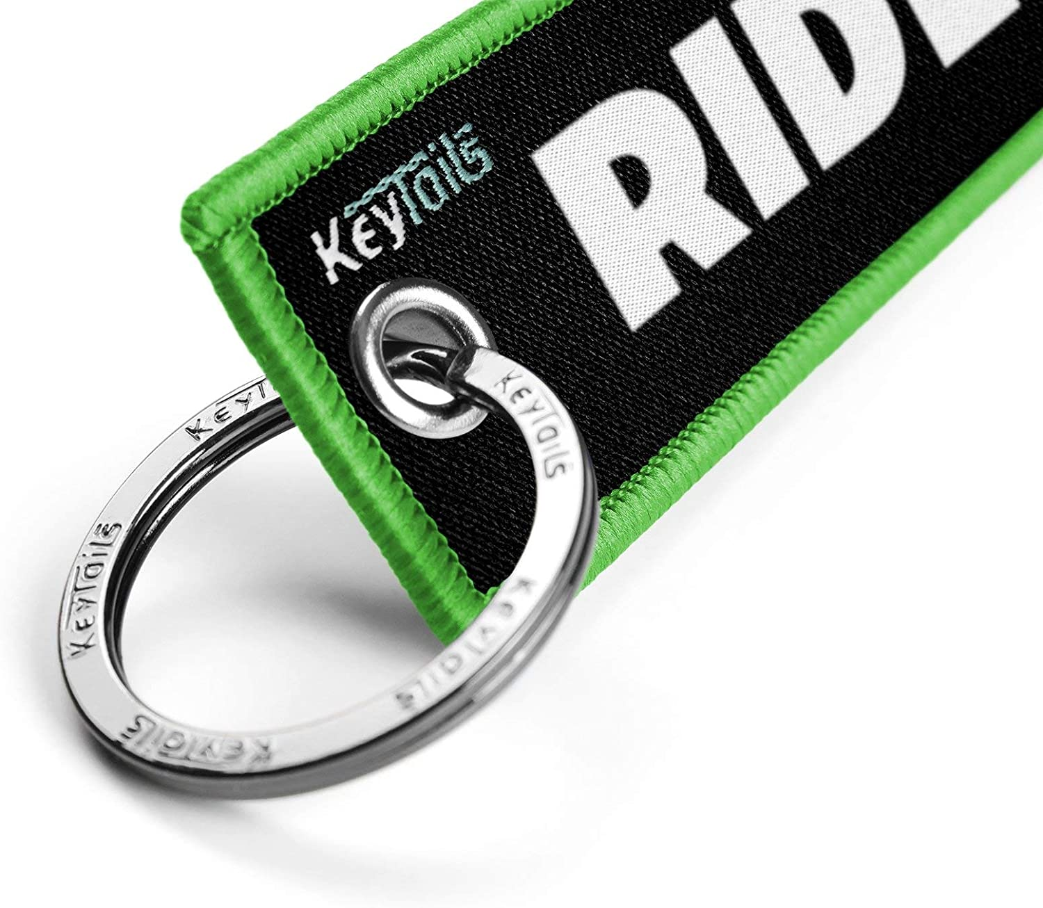 KEYTAILS Keychains Scooter Ride Or Die UTV Premium Quality Key Tag for Motorcycle ATV