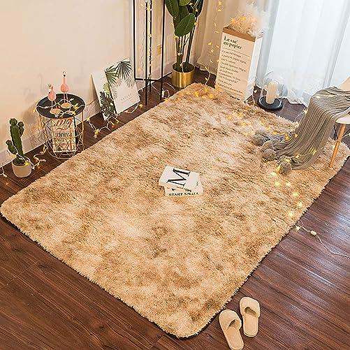 ZFHTAO Fur Faux Fleece Fluffy Area Rugs Plush Shag Carpets and Rugs Super Soft Bedroom Floor Sofa Shaggy