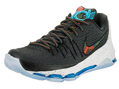 0d375f10c509 NIKE KD 8 BHM Men s Shoes Black Multi-Color 824420-090 (10.5