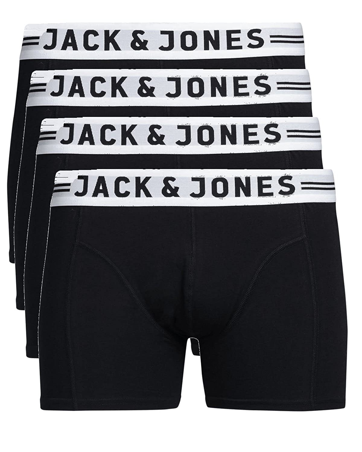 Jack & Jones trunks, pack of 4, Sense boxer shorts, underwear S, M, XL, XXL 12