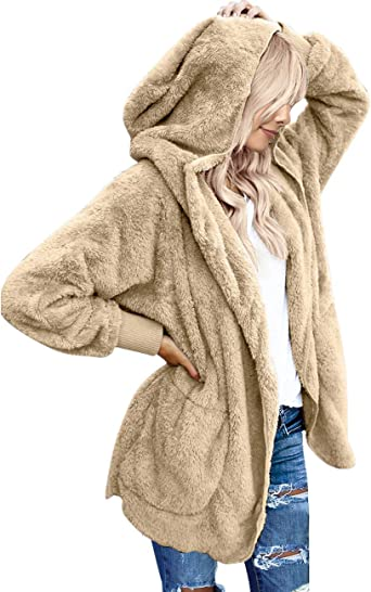 Self Esteem Black or Brown Women/'s Hooded Fleece Jacket