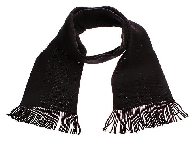 retro gama completa de artículos auténtico Figo bufanda lana Hombre o Mujer Negro Blanco Lila gris ...
