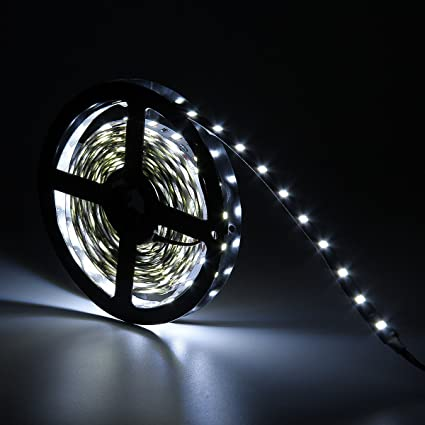 Super Bright 5630 300LEDs 5M Natural White Non-waterproof LED Light Strip 16.4Ft