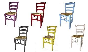 Bunte Holzstühle stuhl paesana sitzfläche stroh lackiert bunte stühle aus holz buche
