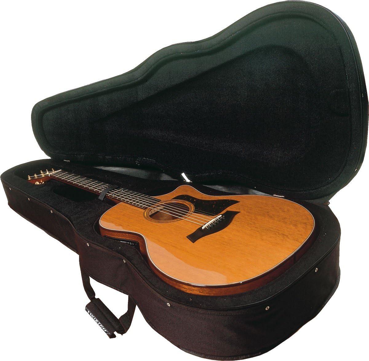 Estuche semi-rígido para guitarra acústica con forma dreadnough