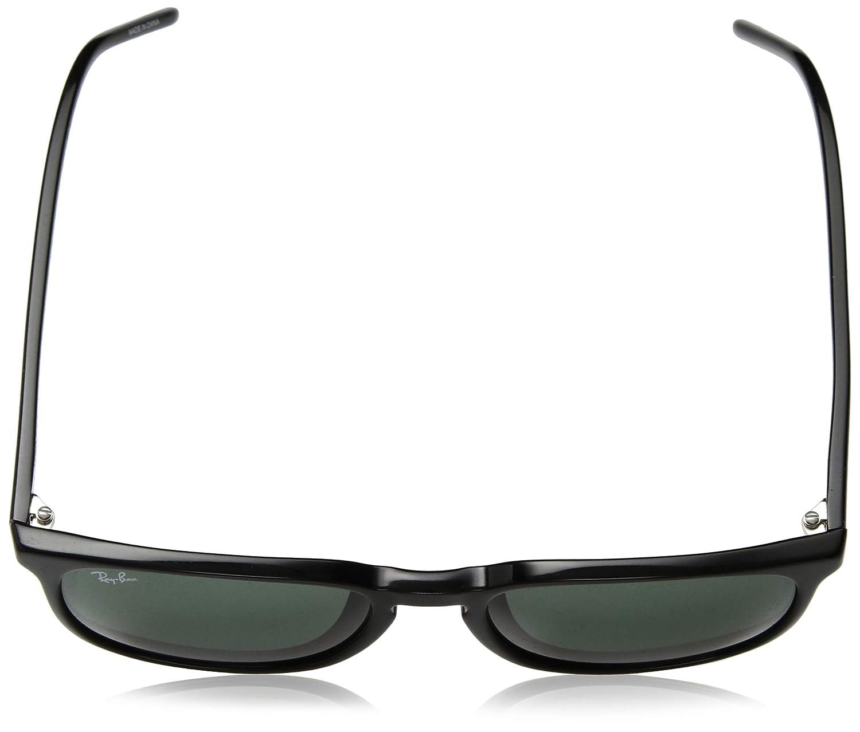 34547102bf4 Amazon.com  Ray-Ban Men s 0rb4387f Round Sunglasses BLACK 0 mm  Clothing