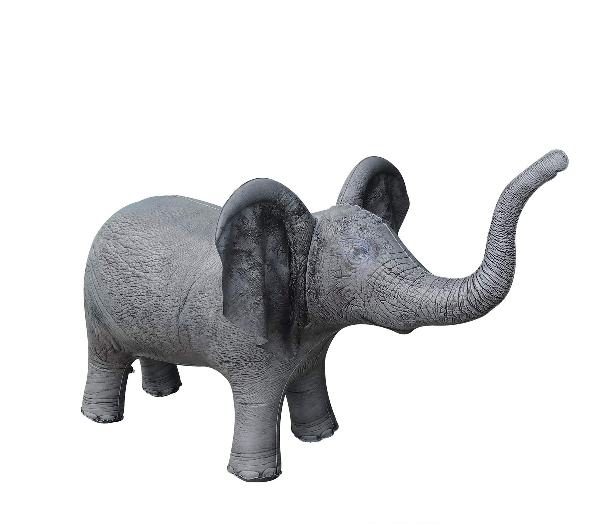 Jet Creations Inflatable Baby Elephant 36 inch Pool Party Decoration Birthday Kids and Adult Stuffed Animals an-ELE8 by Jet Creations