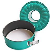 7' Inch Non-stick Springform Bundt Pan 2-In-1 for Use With 6QT or 8QT Electric Pressure Cookers and Air Fryers