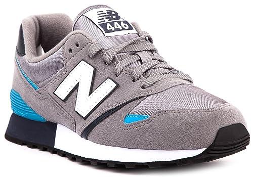 sale retailer 1f7fe 03c27 New Balance Mann Sneakers U446BG, 37.5 Grau/Blau: Amazon.de ...