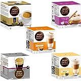 Nescafé Dolce Gusto Set de Cápsulas Exótico, 5 Tipos, Café, Cápsulas de Café, 5 x 16 Cápsulas