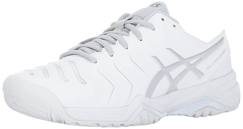 ASICS Women's Gel-Challenger 11 Tennis Shoe B01N07H712 10.5 B(M) US|White/Silver