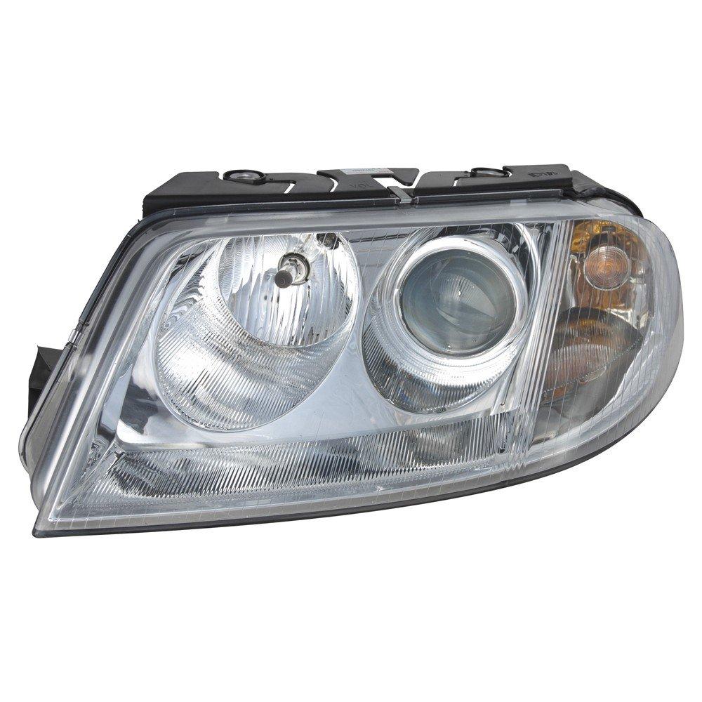 Halogen Headlight Head Lamp Assembly LH Driver Side for Volkswagen Passat New