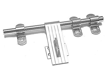 Smart Shophar Stainless Steel Door Aldrop Nickel Silver Finish 12 Inches Door.