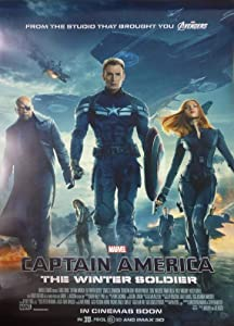CAPTAIN AMERICA THE WINTER SOLDIER MOVIE POSTER 2 Sided ORIGINAL INTL FINAL 27x40 CHRIS EVANS