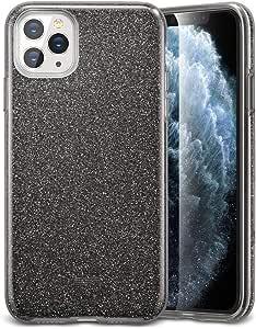 كفر ايفون 11 برو ماكب جليتر اللون اسود من شركة ايسر قير