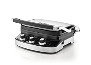 De'Longhi 5-in-1 Ceramic Coated Grill, Griddle, and Panini maker