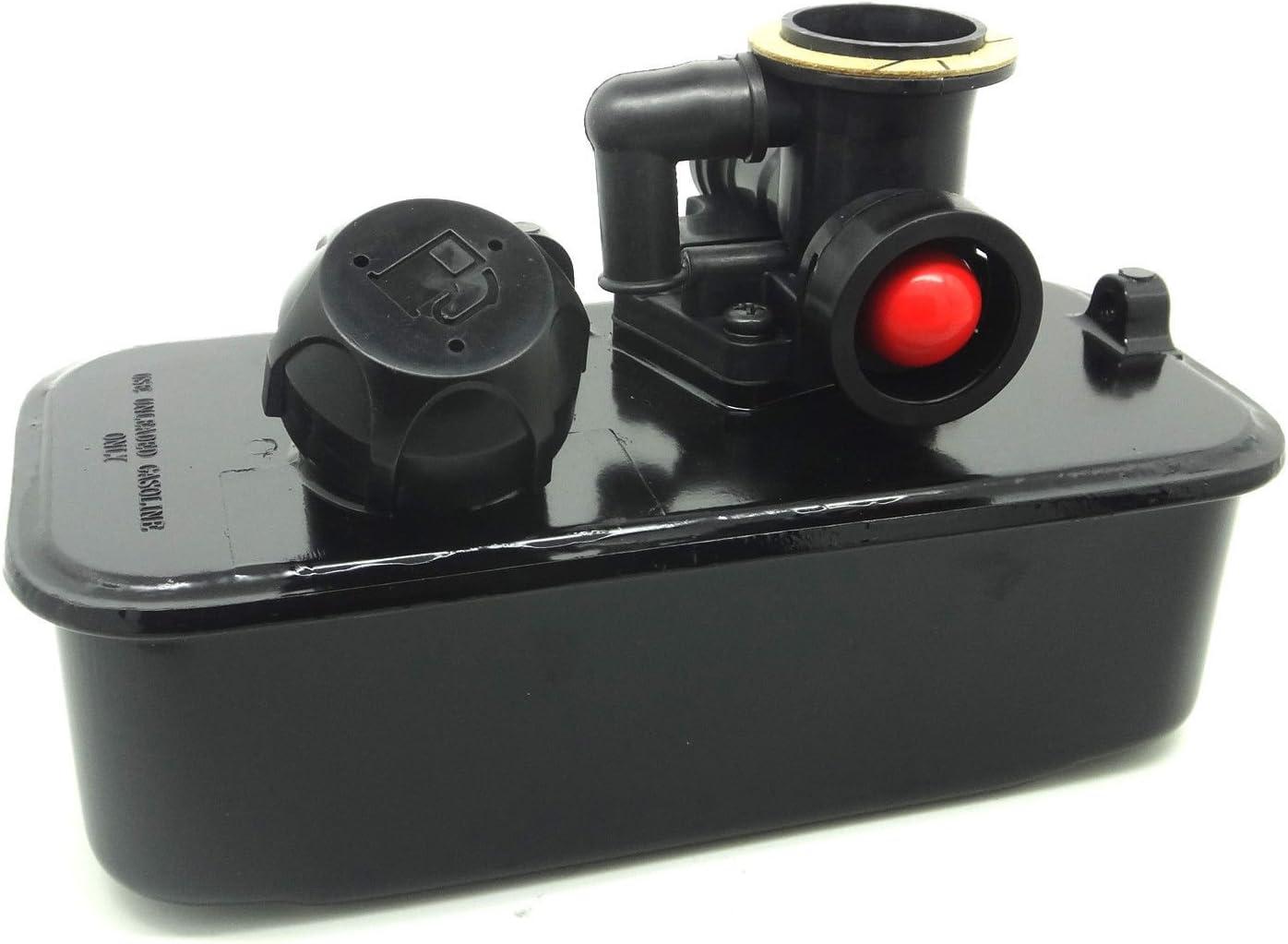 ConPus 494406 Fuel Tank and 795477 Carburetor for Briggs & Stratton 498809 498809A 795469 794147 699660 794161 498811 Carb