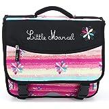 Little Marcel [P3150] - Trousse de toilette 'Little Marcel' noir multicolore - 33x19x8 cm