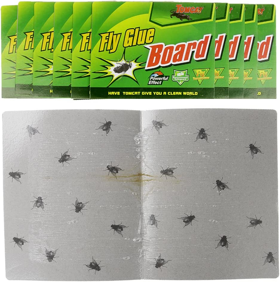 FLY PAPERS FLYPAPERS STICKY KILLERS TRAPS CATCHERS PEST HORSE STABLES mosquito