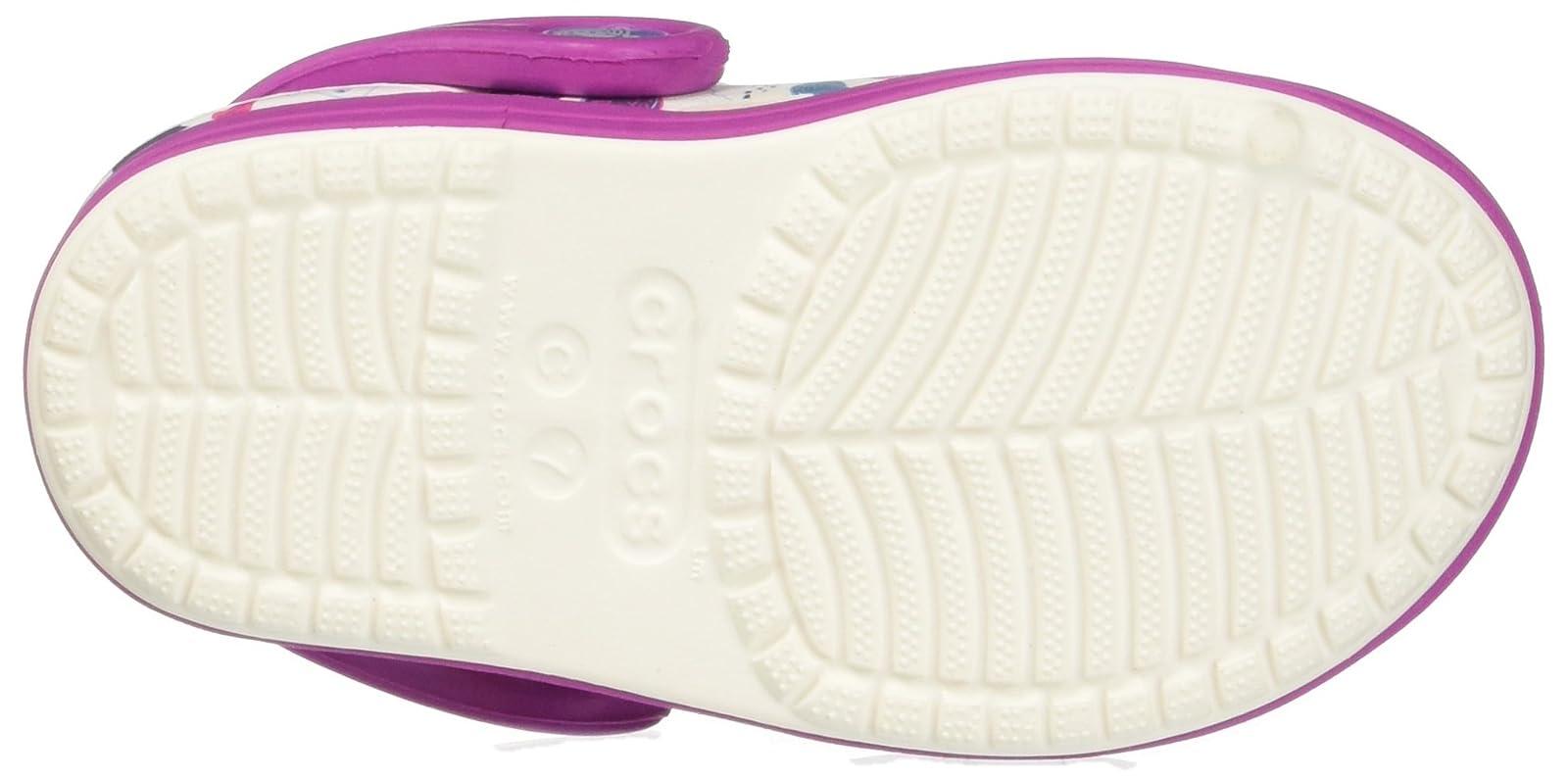 67316bb1069132 ... crocs Kids  Bump It Graphic K Clog 204126 White Vibrant Violet - 3 ...