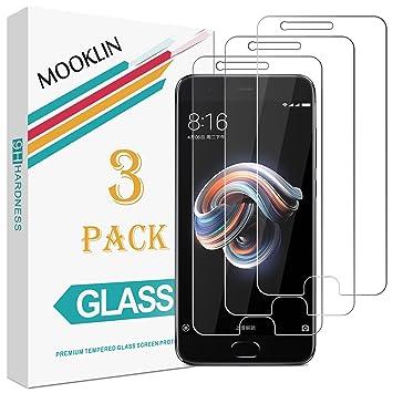 MOOKLIN - 3 Unidades Protector de Pantalla para Xiaomi Mi Note 3 ...