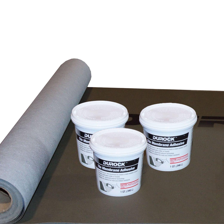 Durock Tile Membrane Kit - 100 SQ FT by USG