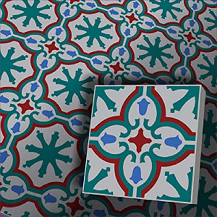 Sample cement tile encaustic tile Iraquia: Amazon co uk: DIY