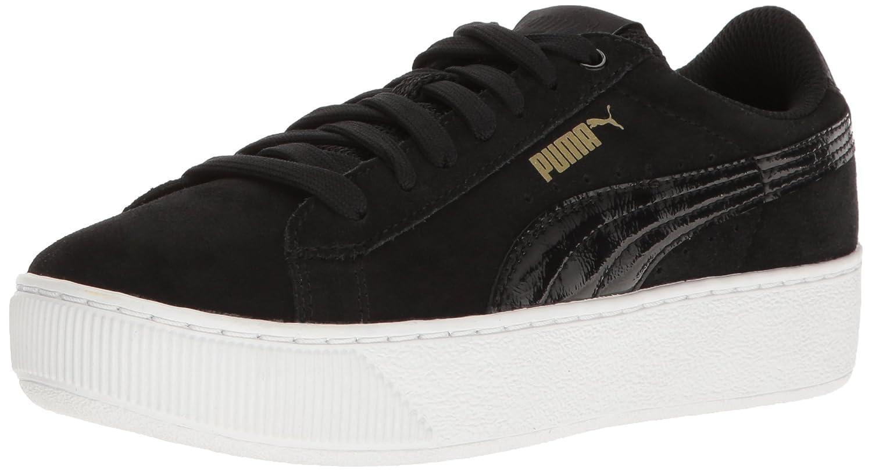 Puma Damen Vikky Platform Sneakers, Rose Violet, 37 EU  41 EU|Puma Black-puma White