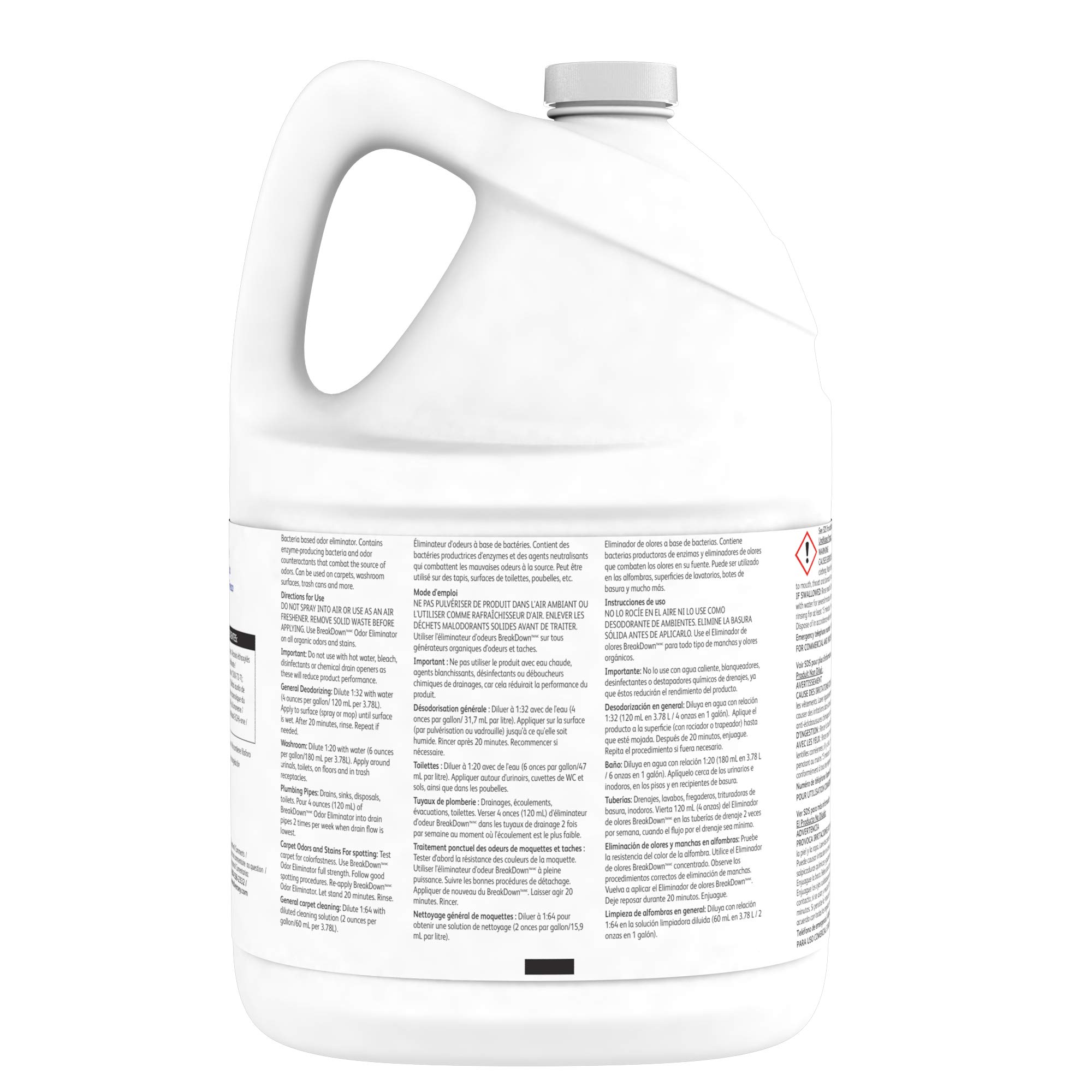 Diversey Breakdown Odor Eliminator - Fresh Scent - 1 Gallon Concentrate, 4 Pack (Packaging May Vary) by Diversey (Image #4)