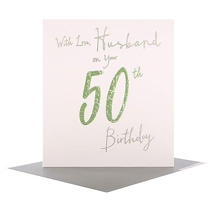 Hallmark - Tarjeta de felicitación de 50 cumpleaños para ...