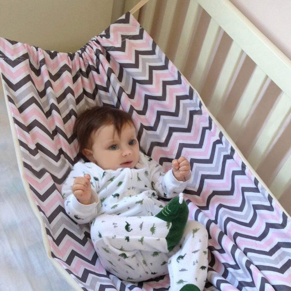 Newborn Baby Hammock Cute Swing for Crib Wombs Infant Safety Bed Floral Prints